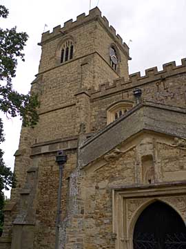 All Saints tower, Wing Buckinghamshire