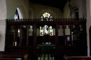 St Katherine's Chapel in All Saints Church Wing Buckinghamshire