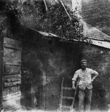 Levi Rickard outside Page's Mill in Wing Buckinghamshire